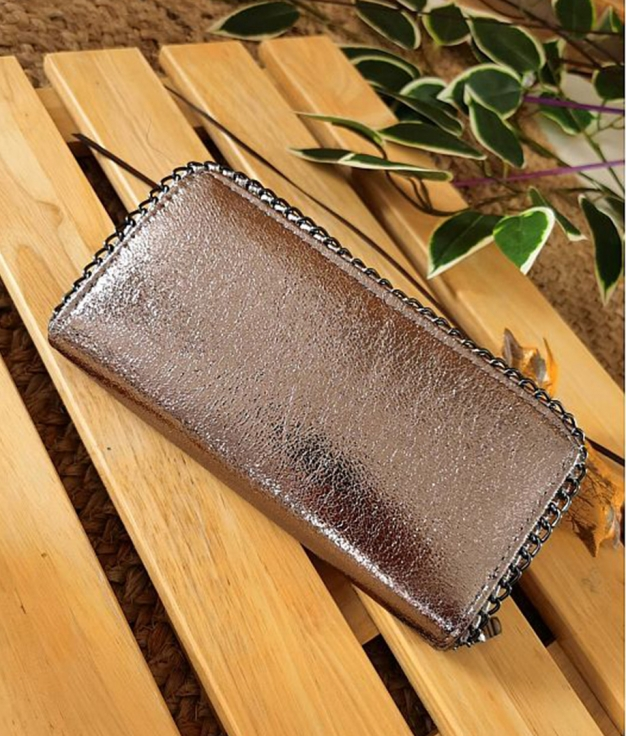wallet Cometa- bronce