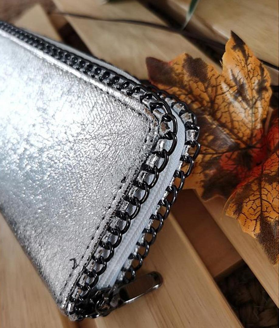wallet Cometa- silver