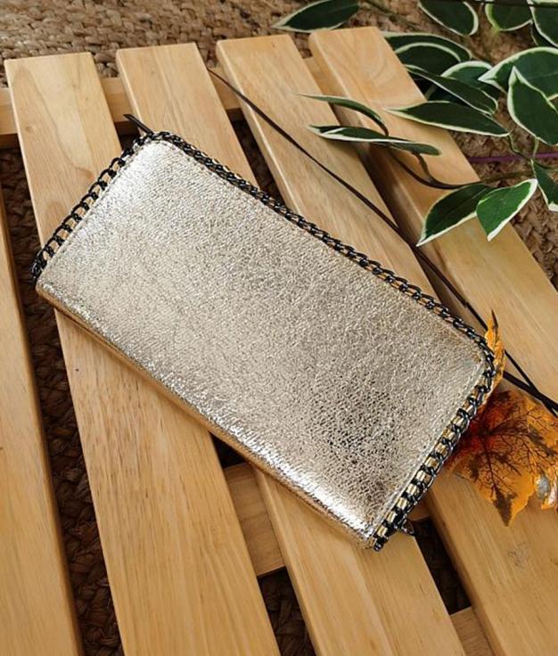 wallet Cometa- gold