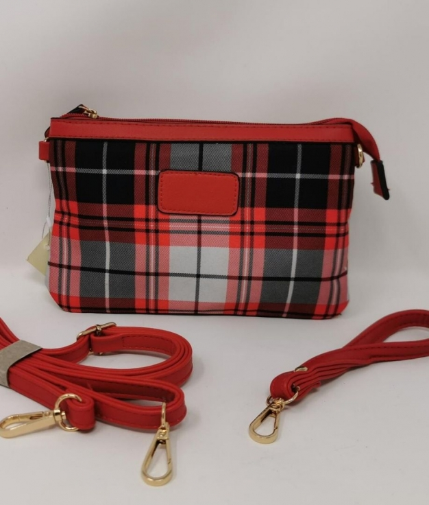 Dayla shoulder bag - Red