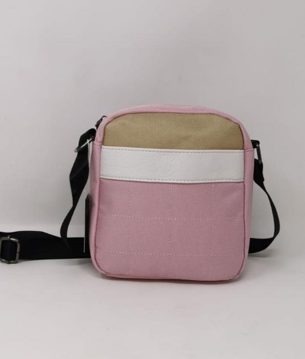Meli- Bolsa de ombro rosa