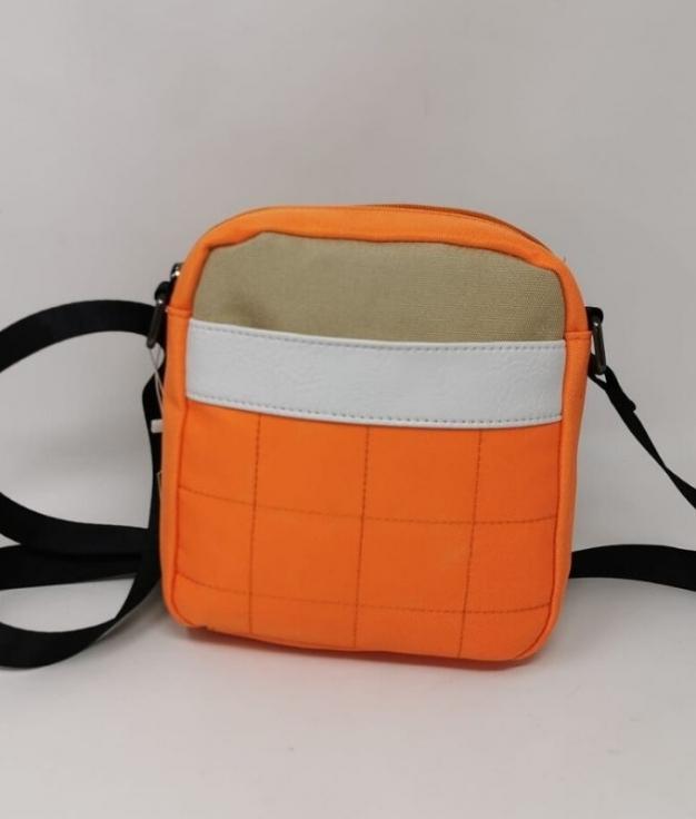 Bolsa de ombro Meli- Orange
