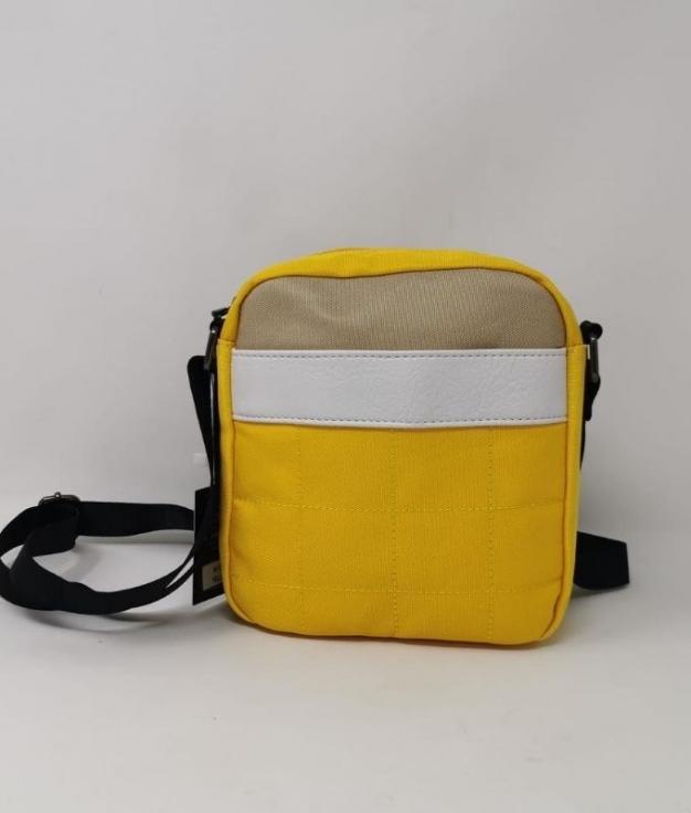 Mala amarela crossbody