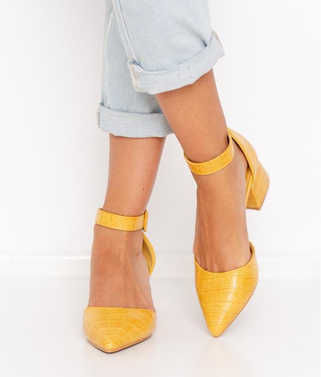 Zapato de Tacón Kalima - Mostaza