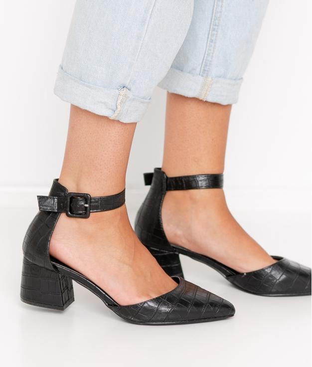 Zapato de Tacón Kalima - Negro