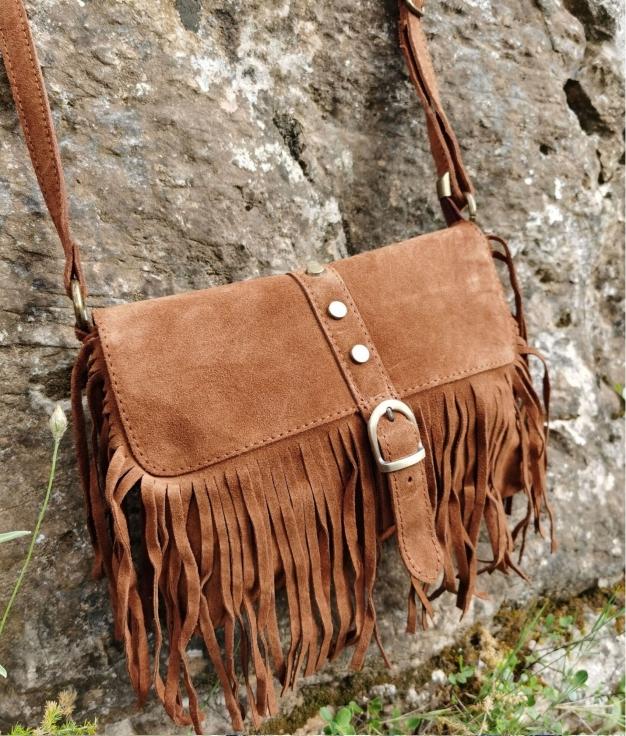 Shoulder bag Marta - camel