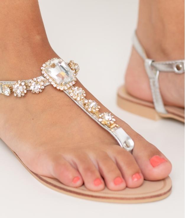 Sandalia Perun - Silver
