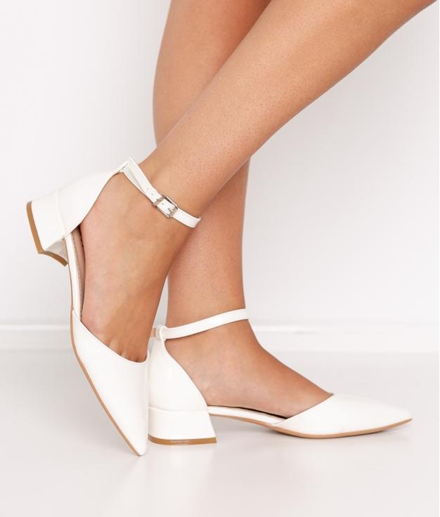 Zapato de Tacón Libian - Blanco