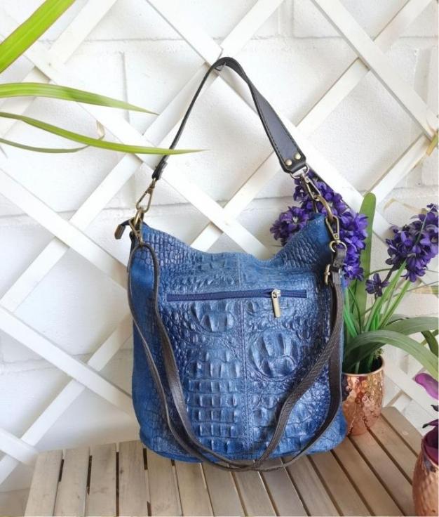 Bolsa Maxi - azul demin