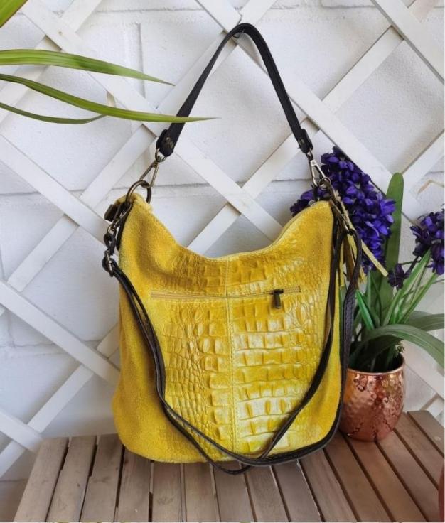 Bolsa Maxi - amarelo