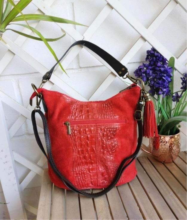Bolsa Maxi - vermelho