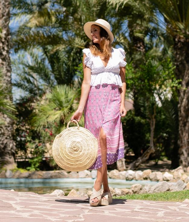 Skirt Zeval - Pink
