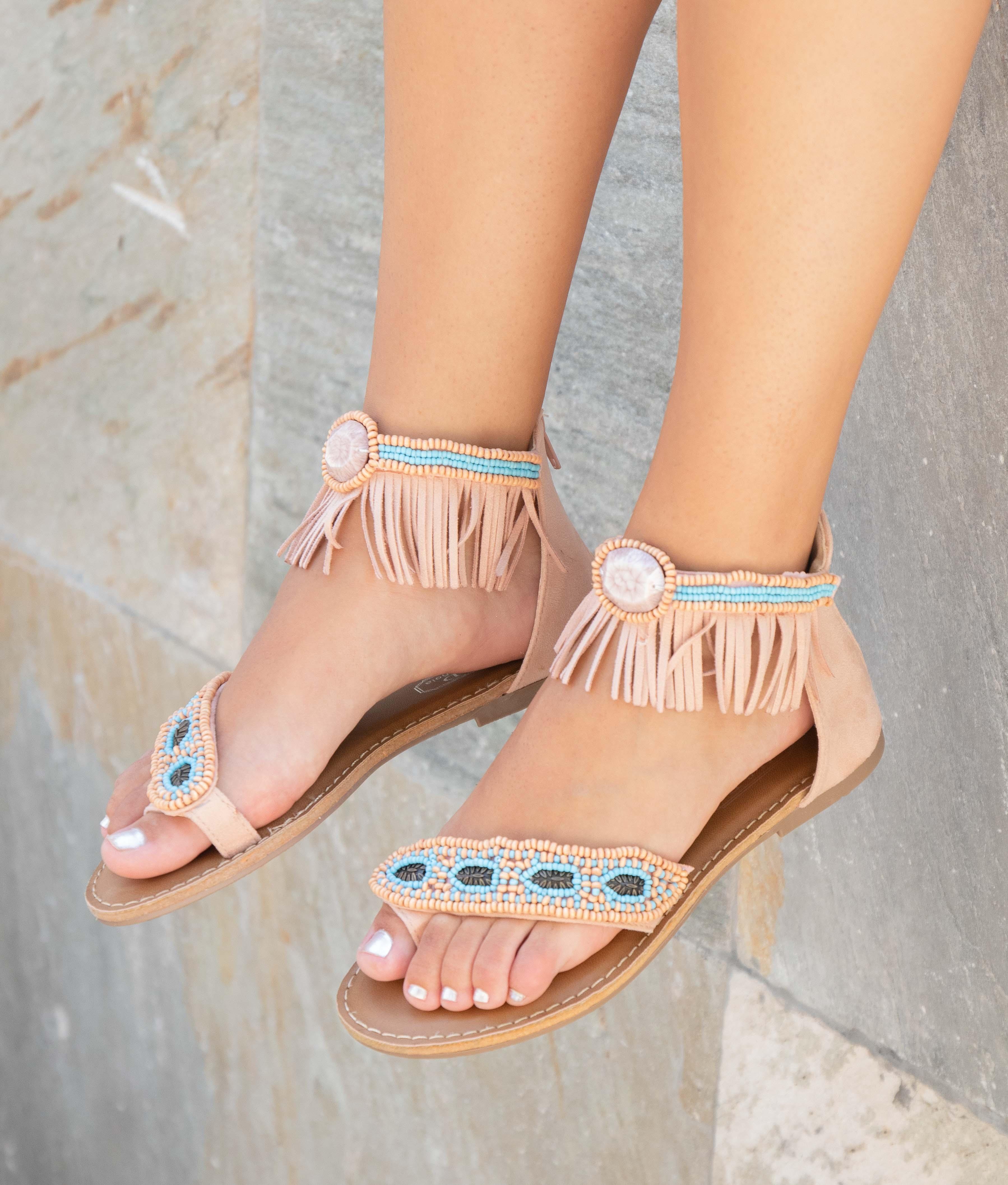 Sandal Velvi - Pink