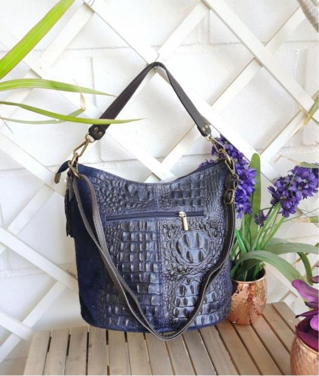 Bag Maxi - Navy blue