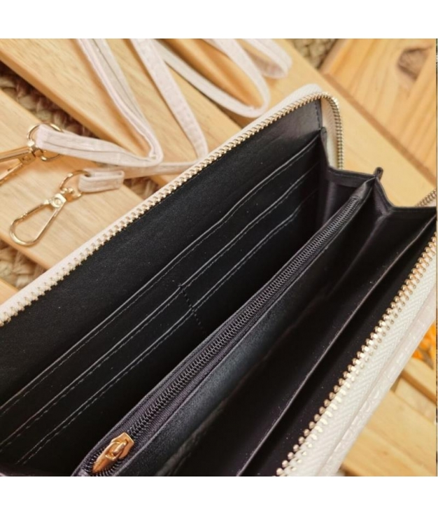 Zeta wallet - beige