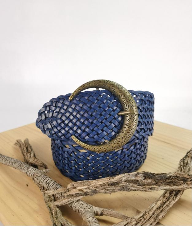 Julia belt - navy blue
