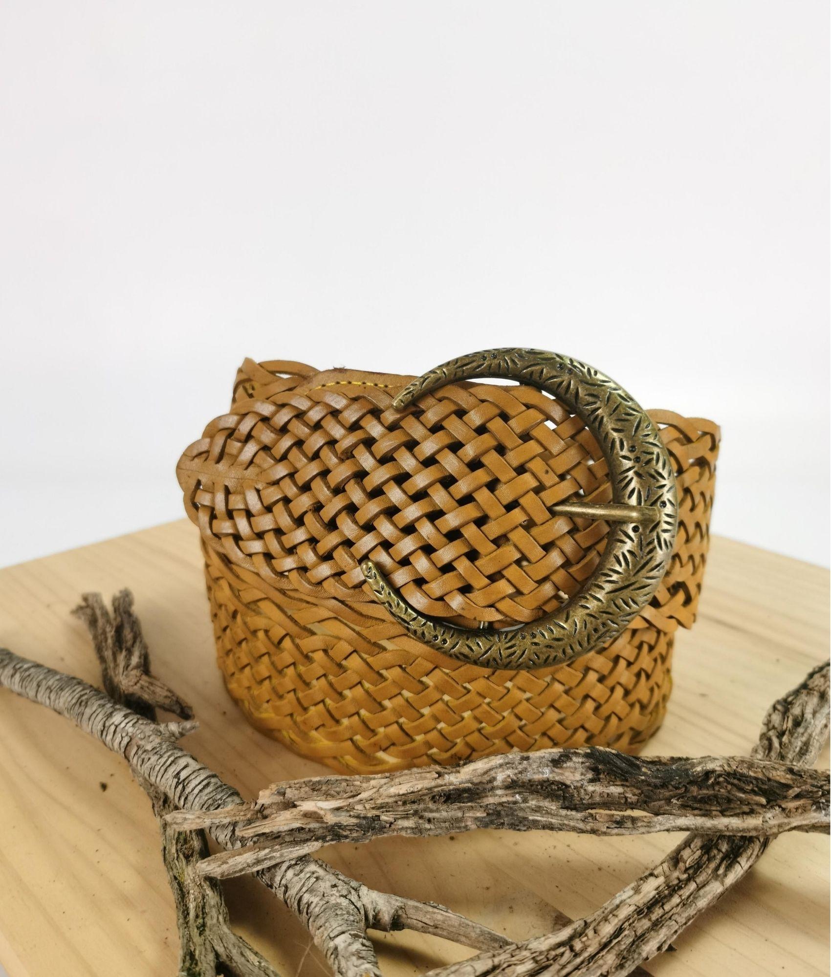 Cinturón Julia - mostaza