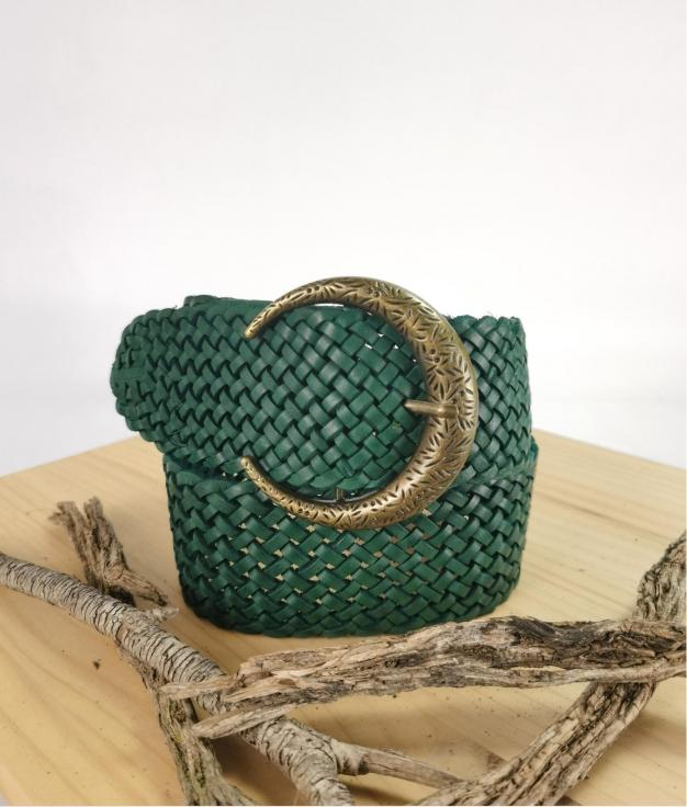 Julia belt - green