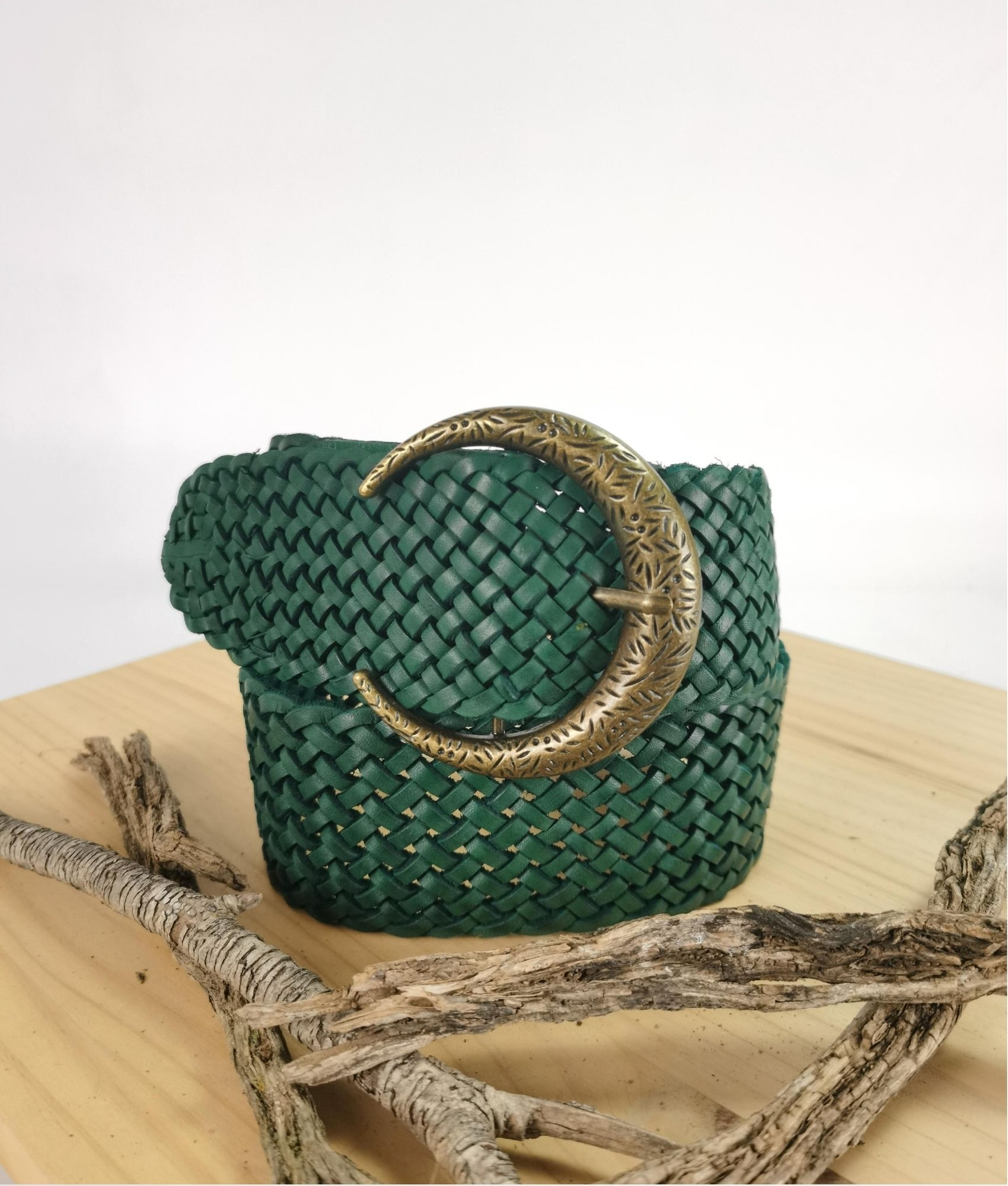 Cinturón Julia - green