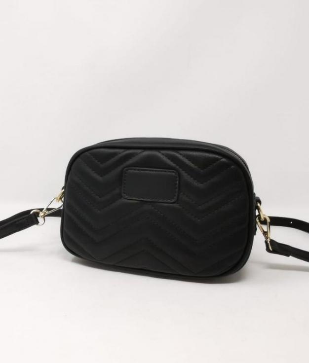 Karmin shoulder bag - BLACK