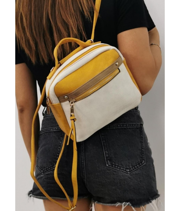 Alessia- Mustard shoulder bag