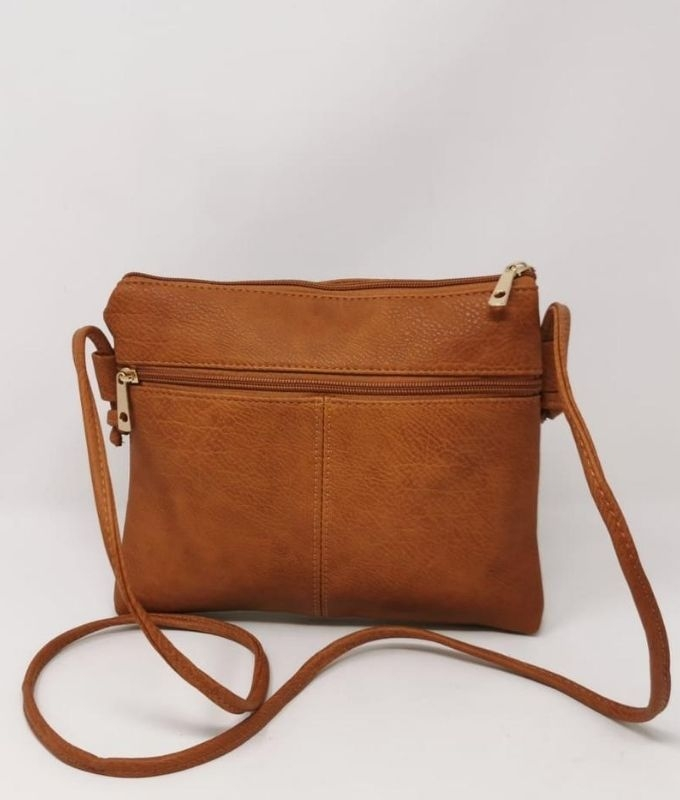 ACROSS BODY GINES - LEATHER