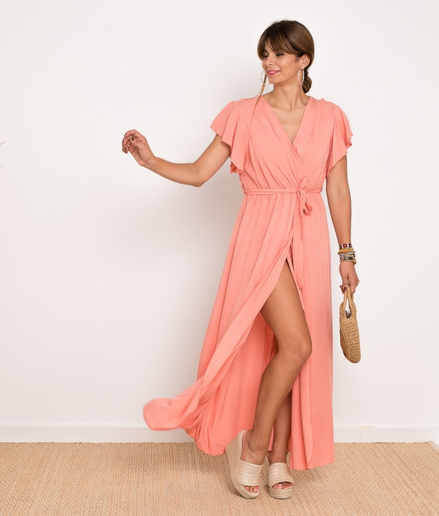 Vestido Sibila - Rosa