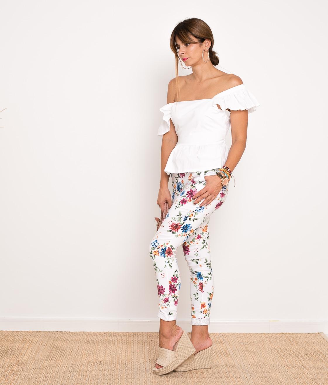 Pantalon Zelda - Blanco
