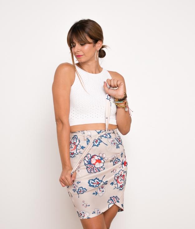 Skirt Selani - Beige