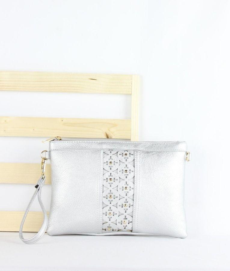 Wallet Amira - Silver