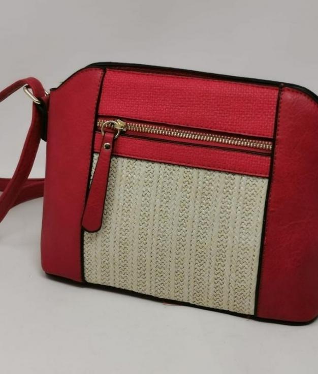 ACROSS BODY BAG YUS - RED