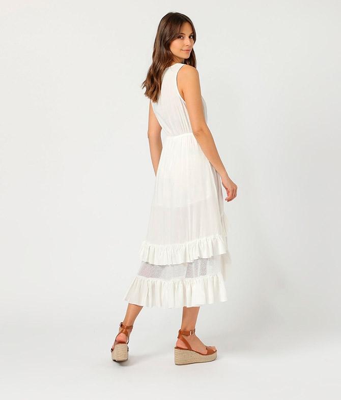 Vestido Duleni - Bianco