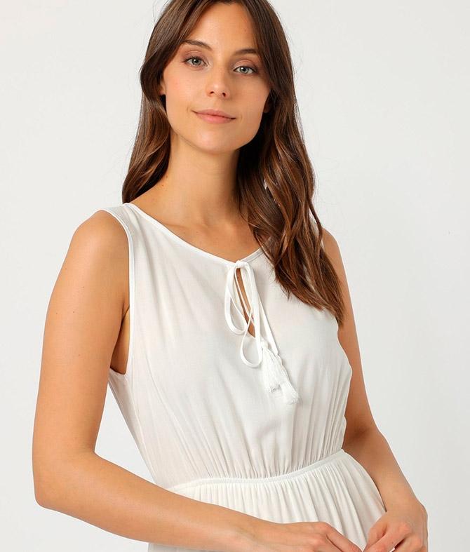 Vestido Duleni - Blanche