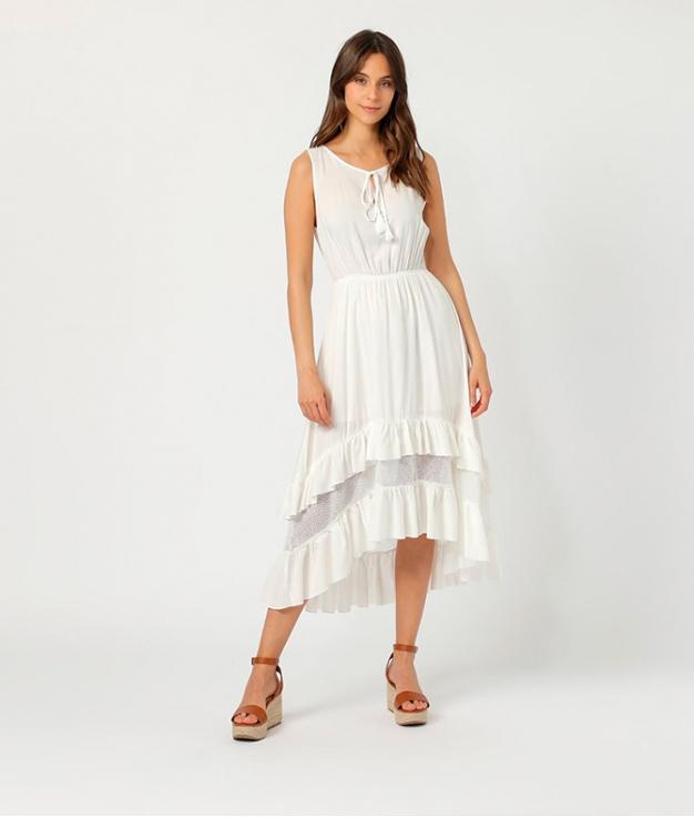 Vestido Duleni - Branco