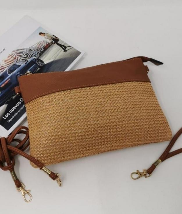 Unices shoulder bag - Brown