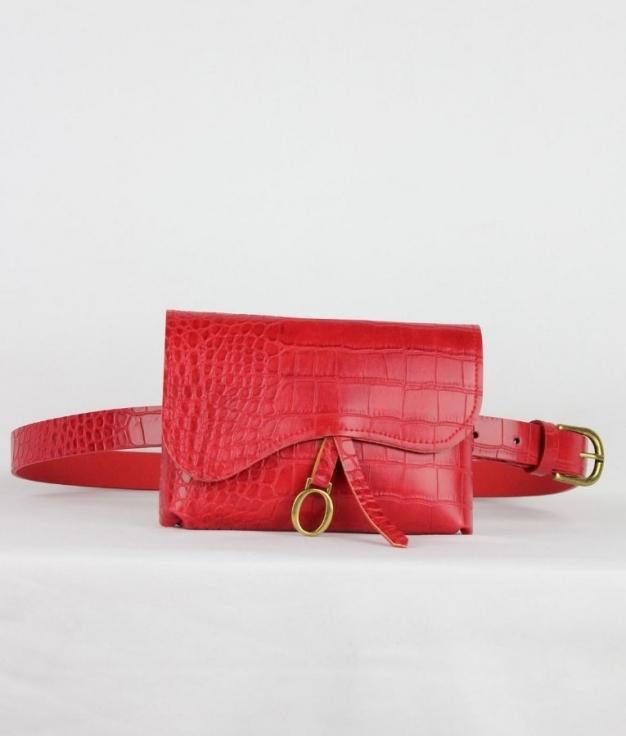 Cintura Bolsito - Rosso