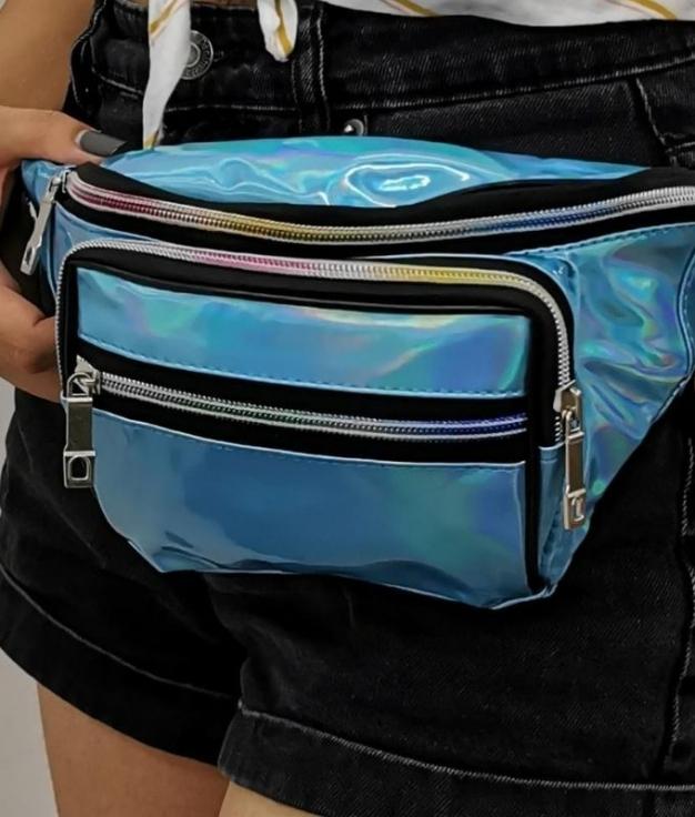 WAIST BAG SARAY - BLUE BLUE
