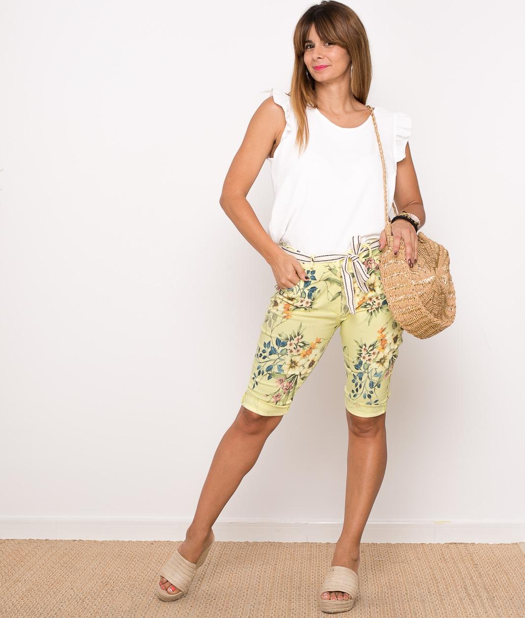 Pantaloni Indu - Rosa
