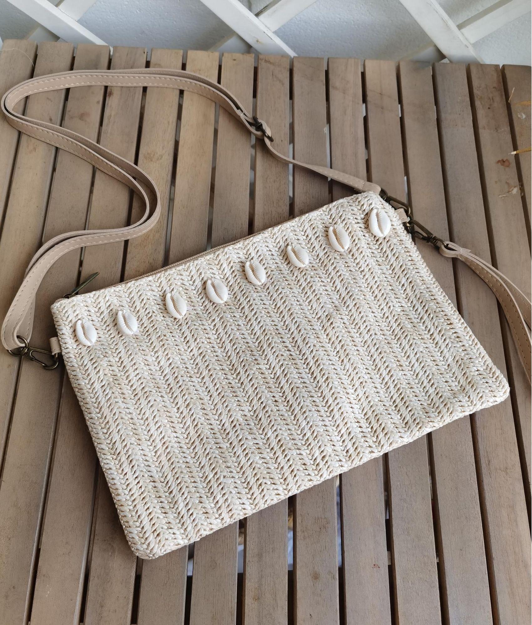Shoulder bag Tatiana - white
