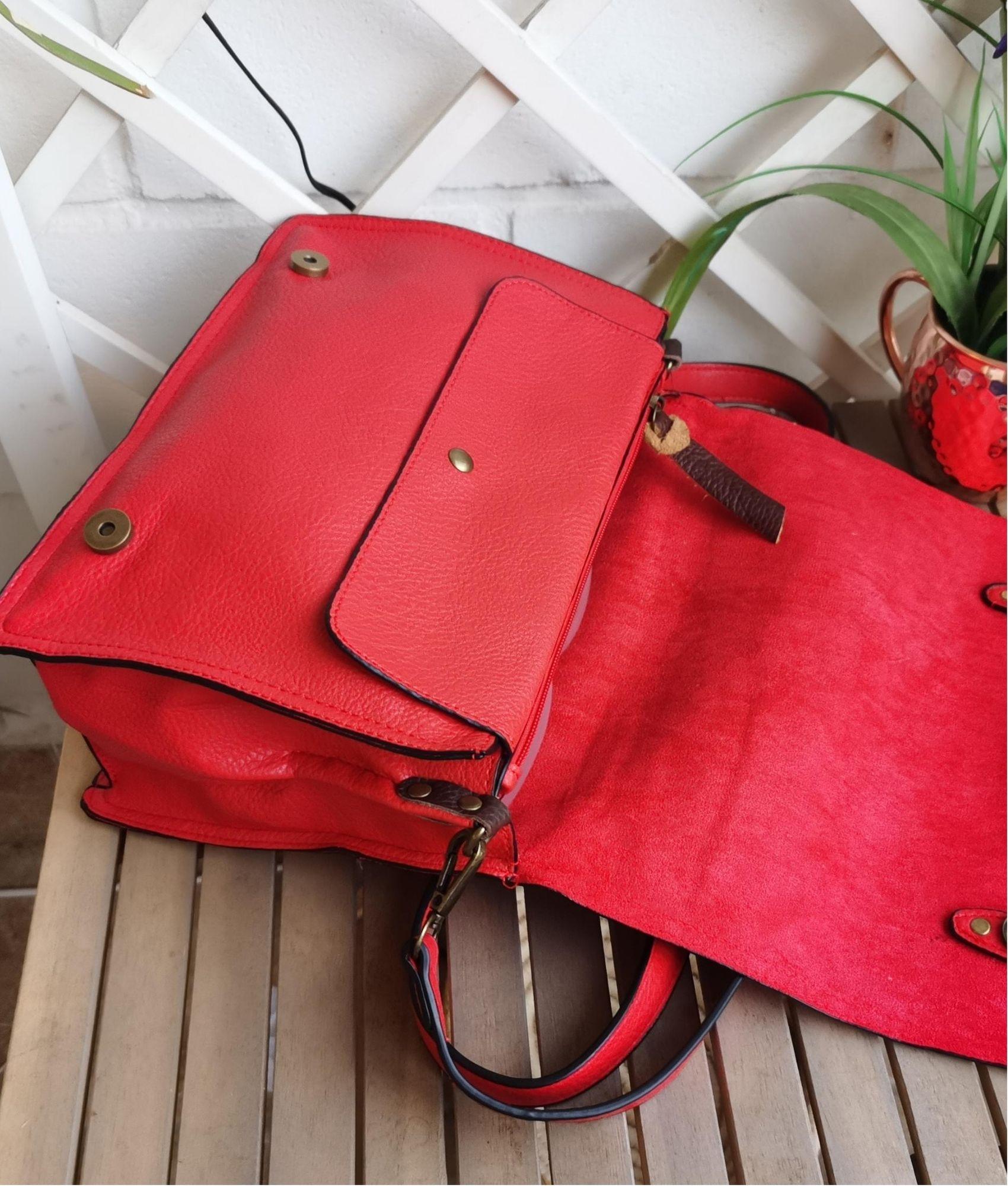 Mónica bag - red