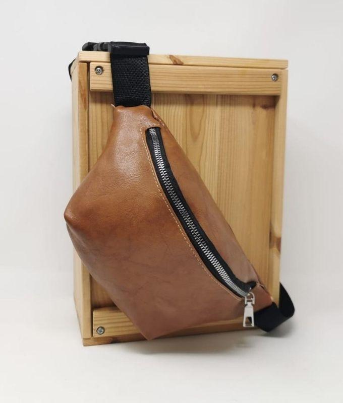 GRIP WAIST BAG - BROWN