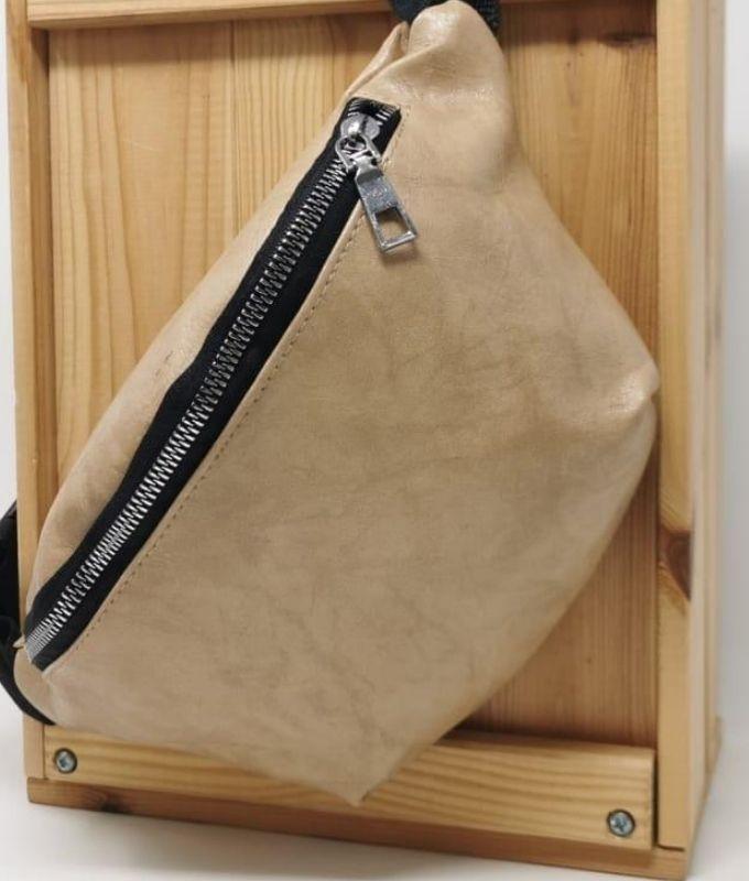 GRIP WAIST BAG - BEIGE
