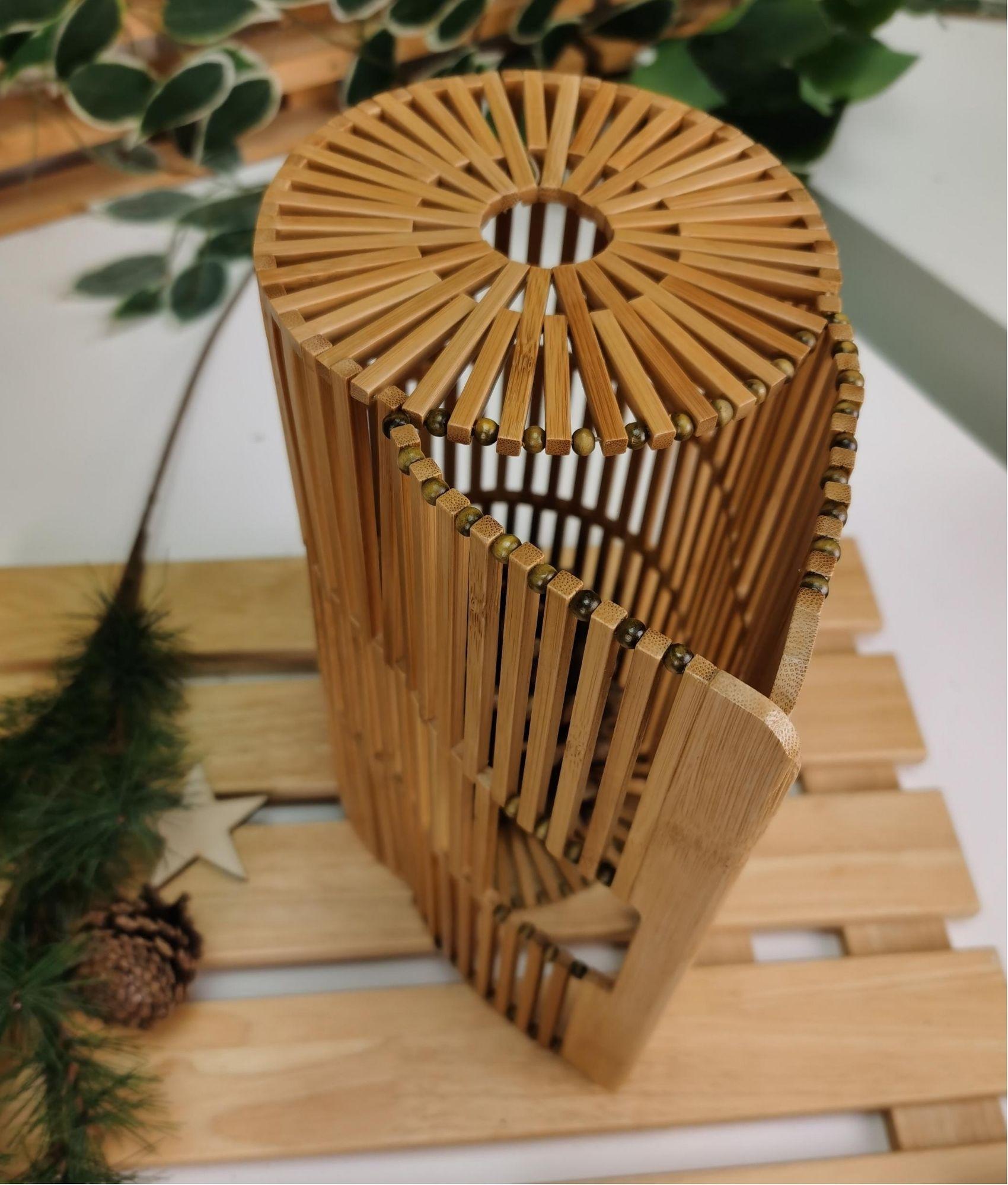 Bolsa Bambu - natural
