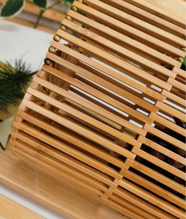 Bolso Bambu - natural