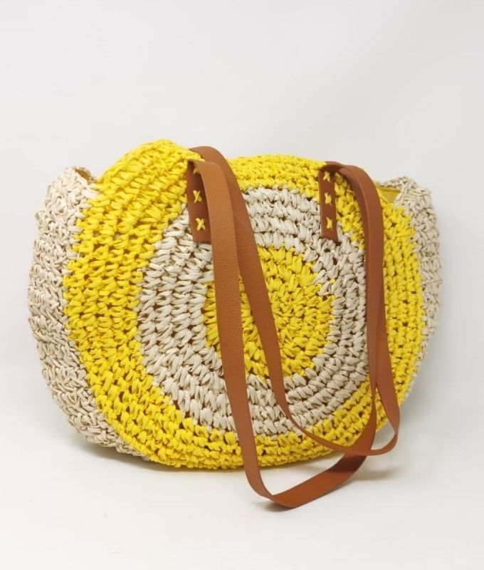 SUN BAG - YELLOW BEIGE