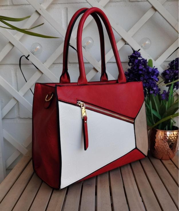 Marisa bag - red