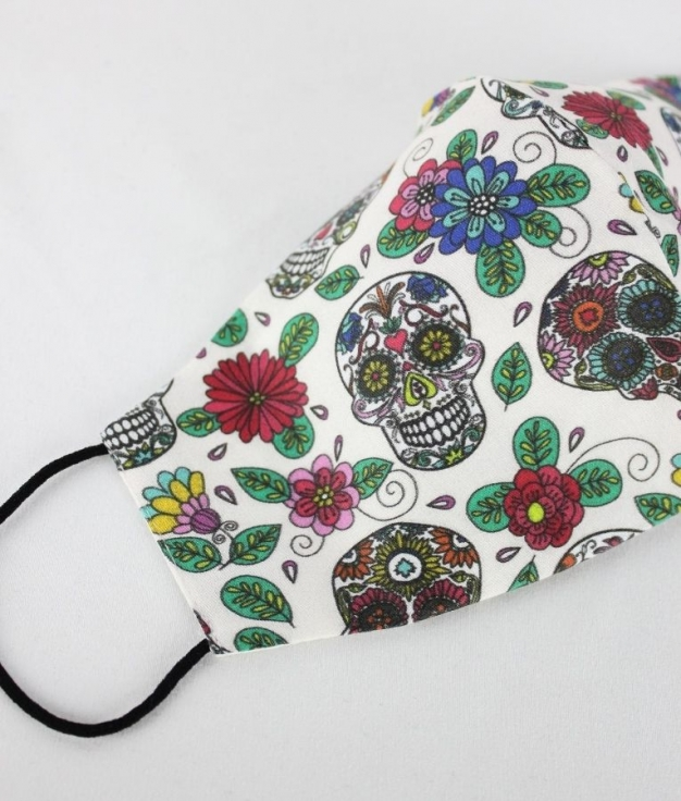 Mask Angela - Calavera Flower