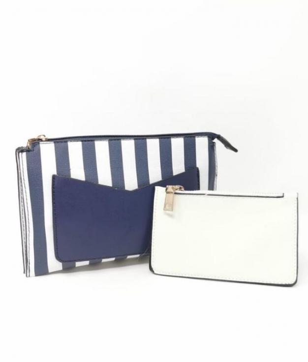 Jail shoulder bag - NAVY BLUE