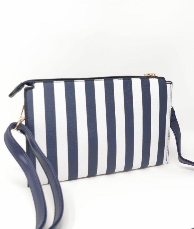 Bolsa de ombro de cadeia - NAVY BLUE