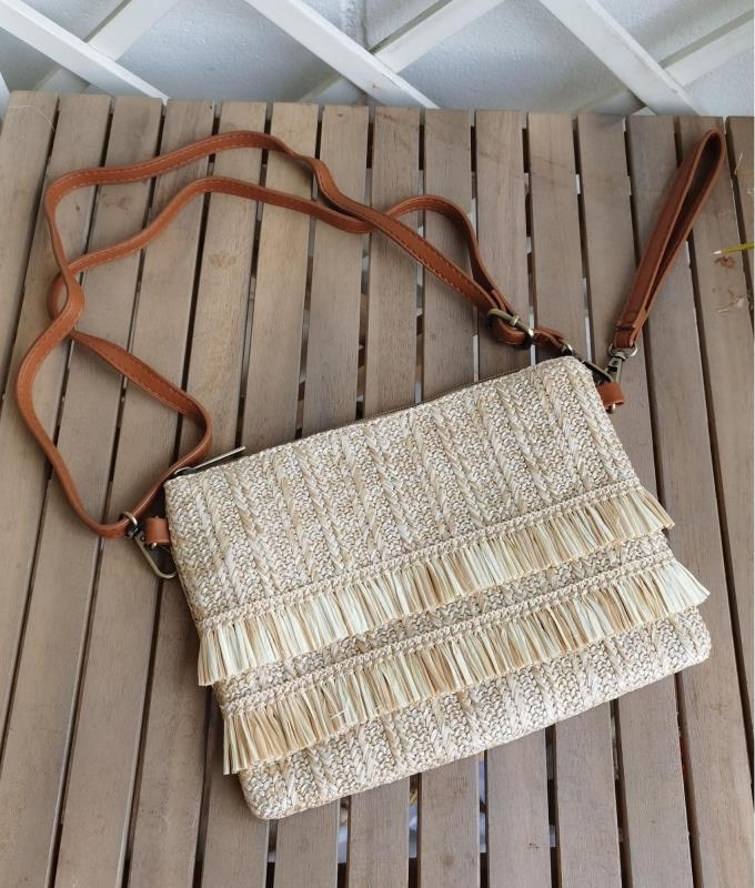Shoulder bag Flec - natural